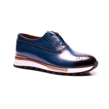 Dressy Slip-On Sneaker // Turquoise (Euro: 39)