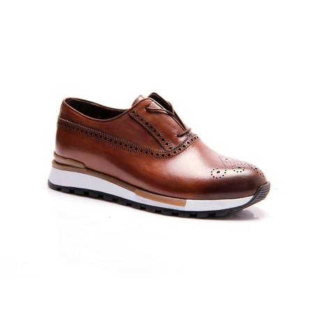 Dressy Slip-On Sneaker // Brown (Euro: 39)