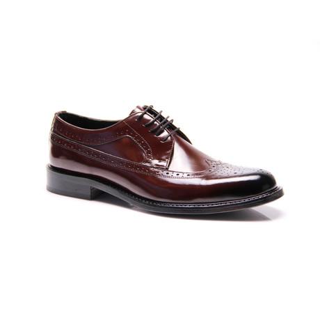 Wingtip Dress Shoes // Bordeaux (Euro: 39)