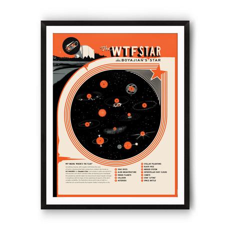 """WTF Star // Giclée Print (12"""" x 16"""")"""