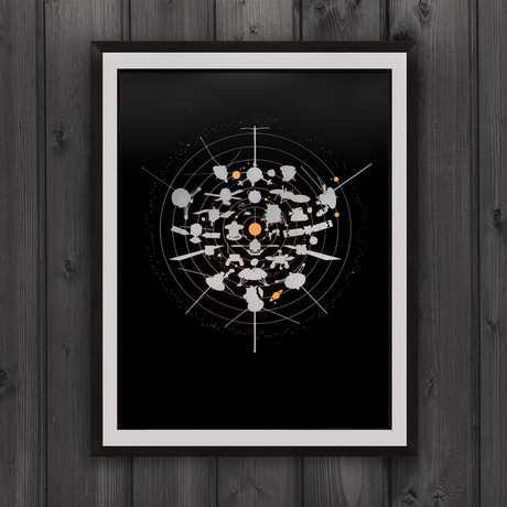 Beyond Earth // Screen Print