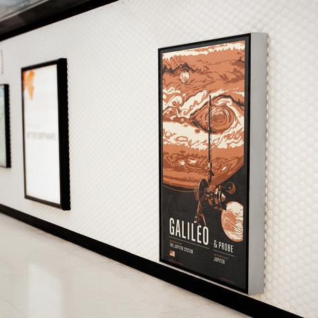 Galileo // Historic Robotic Spacecraft Series // Screen Print