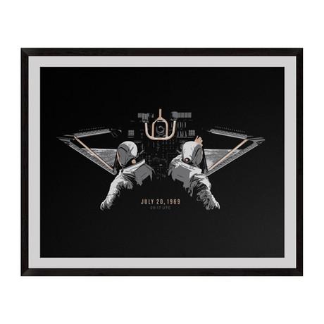 "Eagle Has Landed // Giclée Print (18"" x 12"")"