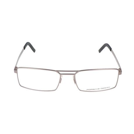Men's P8282 Optical Frames // Light Gunmetal