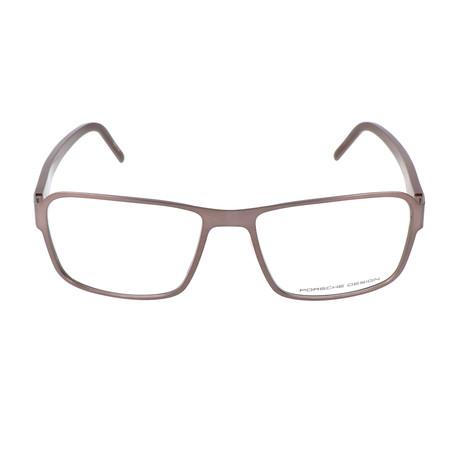 Men's P8290 Optical Frames // Brown