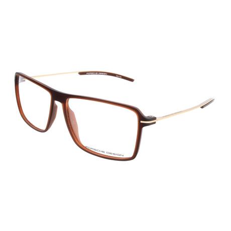 Men's P8295 Frames // Brown Transparent
