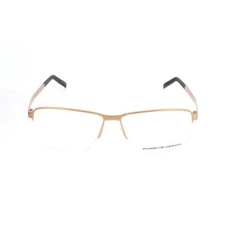 Men's P8318 Optical Frames // Light Gold