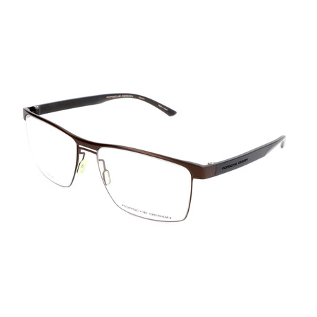 Men's P8289 Optical Frames // Brown