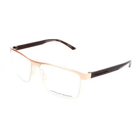 Men's P8289 Optical Frames // Light Gold