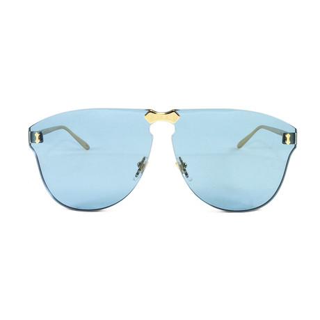 Unisex GG0354S Sunglasses // Gold