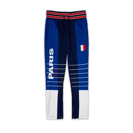 Paris Track Pant // Blue (XS)
