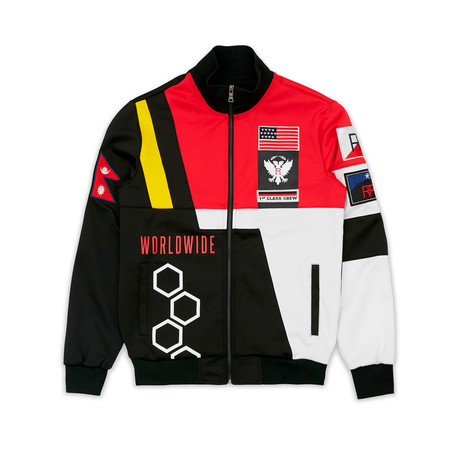 Adventure Club Track Jacket // Black (S)