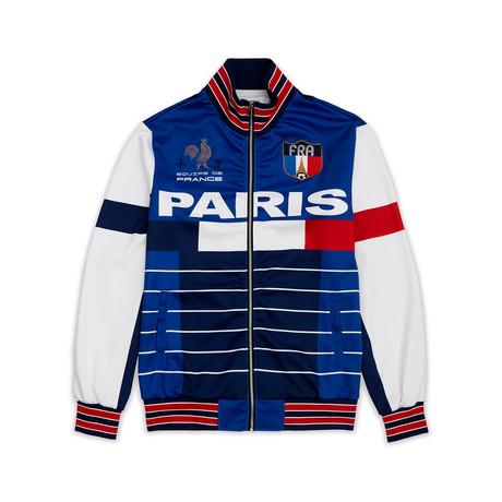 Paris Track Jacket // Blue (XS)