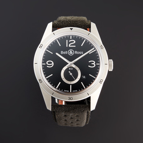 Bell & Ross BR 123 GT Automatic // BRV123-BS-ST/SF // Pre-Owned