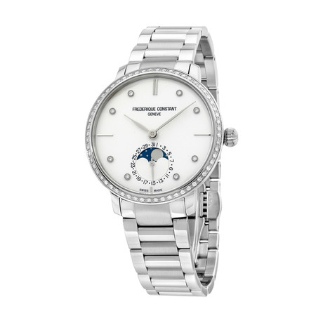 Frederique Constant Slimline Moonphase Automatic // FC-703SD3SD6B