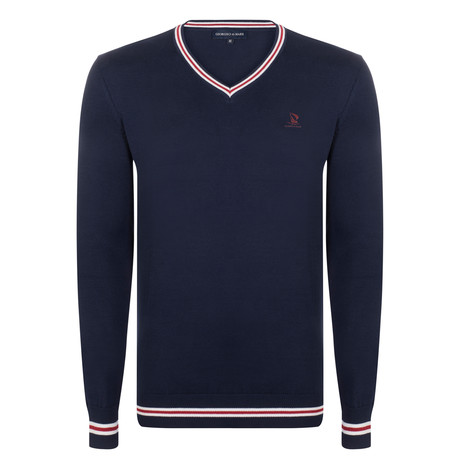 Winfred Pullover // Navy (XS)