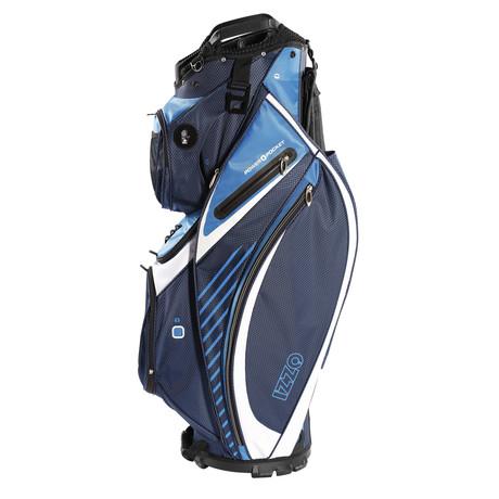 Gemini Golf Bag + Izzo Golf Hat + Towel (Black, Gray, Red)