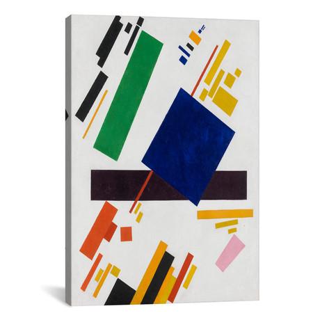 """Suprematist Composition // Kazimir Severinovich Malevich // 1916 (26""""W x 18""""H x 0.75""""D)"""