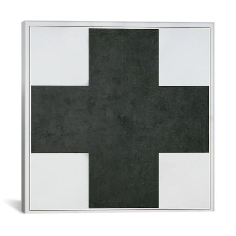 "Black Cross, c.1923 // Kazimir Severinovich Malevich (18""W x 18""H x 0.75""D)"