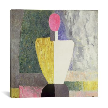 "Torso // Kazimir Severinovich Malevich // 1928-32 (18""W x 18""H x 0.75""D)"