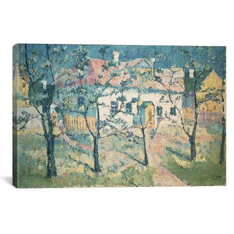 "Spring // Kazimir Severinovich Malevich // 1904 (18""W x 26""H x 0.75""D)"