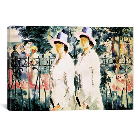 "The Sisters // Kazimir Severinovich Malevich (18""W x 26""H x 0.75""D)"