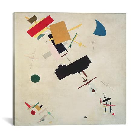 """Suprematist Composition No. 56 // Kazimir Severinovich Malevich // 1936 (18""""W x 18""""H x 0.75""""D)"""