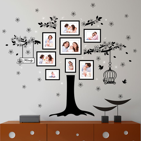 Huge Family Tree with Swarovski Crystals
