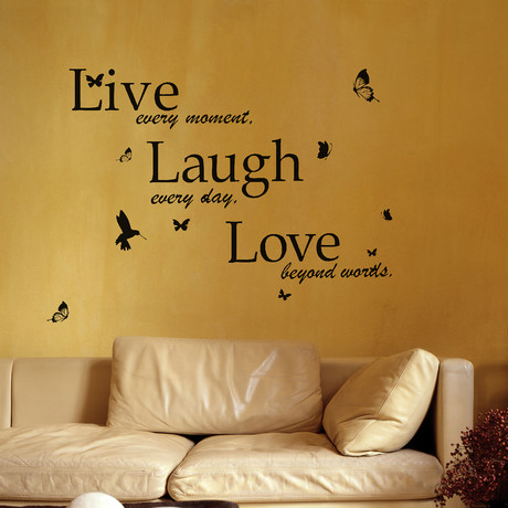 Classic Live Laugh Love