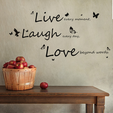 Vivid Live Laugh Love