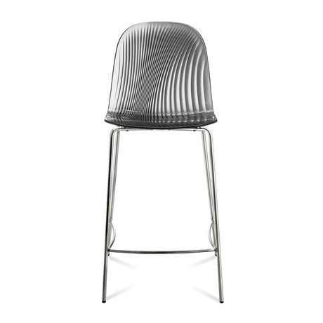 Playa-Sgb Counter Stool (Chrome White)