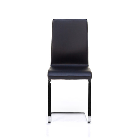June SL Chrome Chair // Black