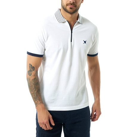 Kingston Short Sleeve Polo // White (S)