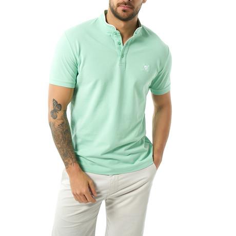 Hamza Short Sleeve Polo // Mint (XS)
