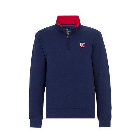 Gauge Sweater // Navy (XS)