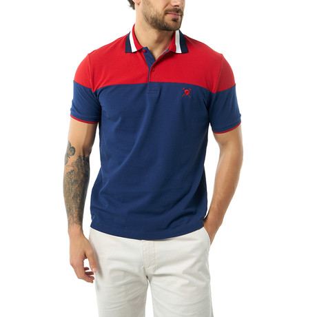 Karson Short Sleeve Polo // Navy (S)