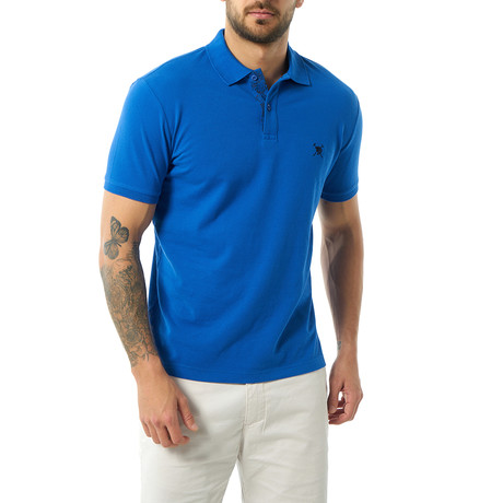 Andy Short Sleeve Polo // Sax (XS)