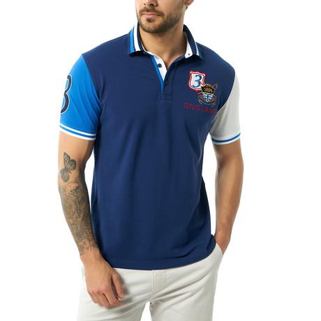 Giovani Short Sleeve Polo // Navy (XS)