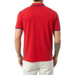 Ari Short Sleeve Polo // Red (S)