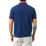 Jose Short Sleeve Polo // Navy (S)