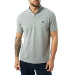 William Short Sleeve Polo // Gray Melange (XL)