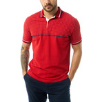 Soren Short Sleeve Polo // Red (3XL)