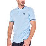 Myles Short Sleeve Polo // Baby Blue (S)