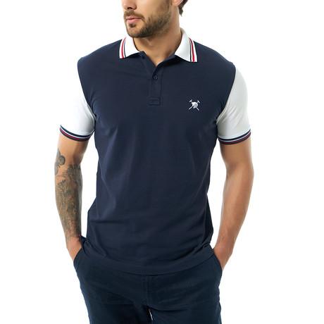 Terrance Short Sleeve Polo // Navy (XS)