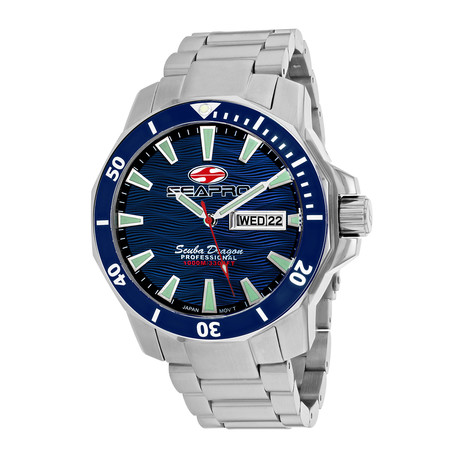 Seapro Scuba Dragon Diver 1000M Quartz // SP8311S
