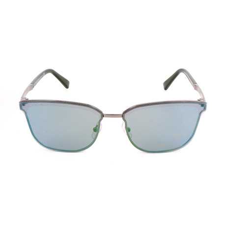 EZ0086 08Q Sunglasses // Shiny Gumetal