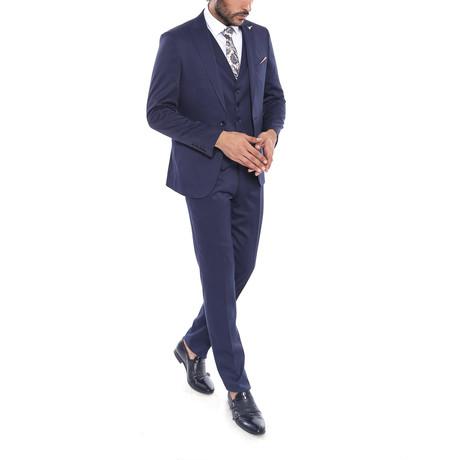 Jamison 3-Piece Slim Fit Suit // Navy (Euro: 44)