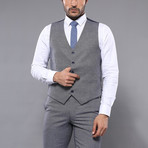 Xander 3-Piece Slim Fit Suit // Gray (Euro: 42)