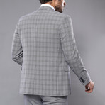 Melvin 3-Piece Slim Fit Suit // Gray (Euro: 54)