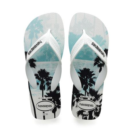 Surf Sandal // White + Black (US: 8)